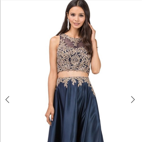 cheap sale top-rated discount buy Two piece prom dress